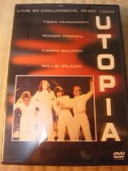 DVDソフト ユートピア ライブ・イン・コロンバス、オハイオ1980 輸入盤 洋楽