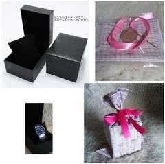 送料無料/プレゼント用/腕時計保存箱ラッピングセットクリスマス