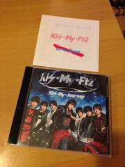 Kis-My-Ft2�L�X�}�Cjourney�A���o��CD�ʏ�� ��i