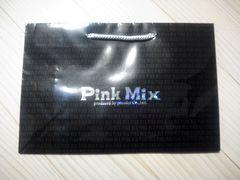 美品 ピンクミックスのショップ袋