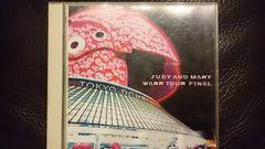 JUDY AND MARY「WARP TOUR FINAL」DVD2枚組/YUKI