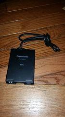 大人気ETC Panasonic製 CY-ET809D 即使用可能 アンテナ一体型 ブラック