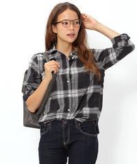 ニコアンド☆ネルシャツ�A