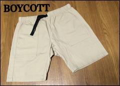 BOYCOTT ボイコット メンズ ショートパンツ ハーフパンツ L