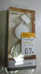 即決Dockコネクタ充電ケーブルiPhone4、iPodなど対応Apple認証