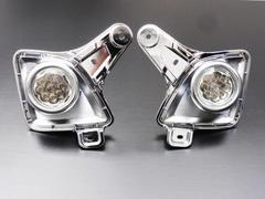 バルカンLEDクリスタルフォグランプ ハイエース 200系3型 メッキ