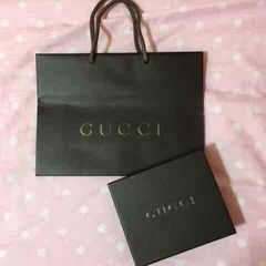GUCCI*正規品袋&箱セット�@