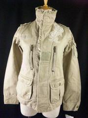 凄い袖&インナーの取り外し可能ビーズ刺繍3wayジャケット\14700