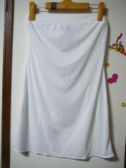 アンフィ シンプルスリップLサイズ白swg002