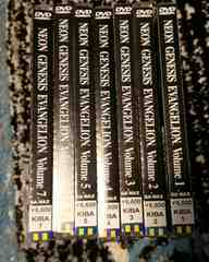 DVD エヴァンゲリオン 全7巻セット