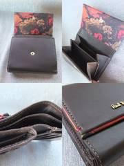 新品■ポールスミス■薔薇ローズプリント財布■キャメル¥19950