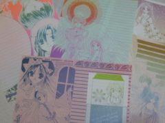 ファンタジー系&オリジナル 美麗同人便箋&ミニ封筒セット 未使用新品