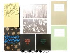◆B'zファンクラブ<B'z Party>特典★SEASON'S Greetingカード/5枚セット