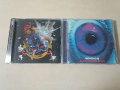 Wrench CD2枚セット★「BLUE BLOOD BLUE」「CIRCULATION」レンチ