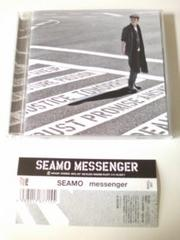 (CD)SEAMO/シーモ☆MESSENGER★2011年フルアルバム♪帯付♪即決価格