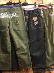 新品☆男の子150ゆったりサイズ長ズボン3本セットゴムr710