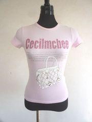 CECIL McBEEセシルマクビー☆ラインストーンTシャツ