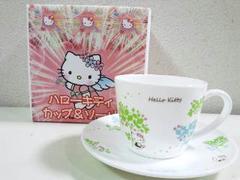 HELLO KITTY/ハローキティカップ&ソーサーセットエレガントリーフ