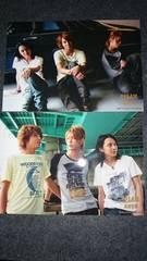 手越祐也、亀梨和也、渋谷すばるの写真2枚セット