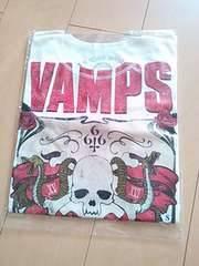 VAMPS LIVE XV XVI JOINT666ツアーグッズ Tシャツ白 sサイズ