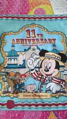 限定 ディズニーシー TDS 11周年 きんちゃく 巾着袋 ミッキー ウッディ