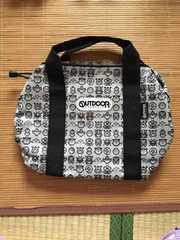 定形外込。outdoorコラボ・ポケモンドットイラスト柄バッグ