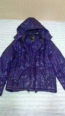 ダウン ジャケット 紫 L