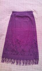 ●INDIVI● フリンジタイトスカート