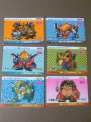 ◆魔神英雄伝ワタル/カード/6枚/難あり