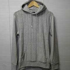 ケーブルパイル切替プルパーカー/杢GR/L 特価