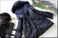 ◆新品◇3L◇真冬も◎中綿INあったかブルゾン♪フード付