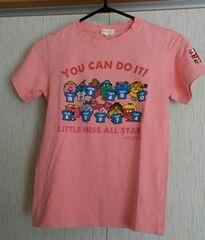 ハッシュアッシュ☆ピンクのTシャツ☆size120