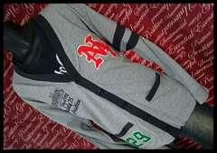 4L・刺繍×フエルトカーデ・Tシャツセット 新品灰/MCV-510