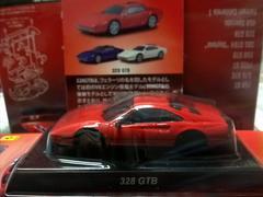 京商 フェラーリ10  328GTB  レッド