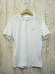 即決☆コロンビア ドライ ベーシックTシャツ WHT/L 速乾 新品