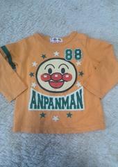アンパンマン♪オレンジ長袖シャツ♪90�p