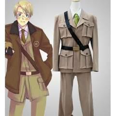 K431 APH ヘタリア  アメリカ 軍服 ◆ コスプレ衣装 新品
