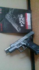 マルイ、P226 強烈キック 金属感仕上げ