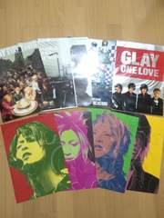 GLAY特典ポスターB4サイズ8枚おまけ付き