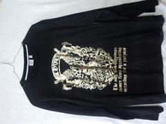 ロンT ロック 長袖Tシャツ Lサイズ 送料無料