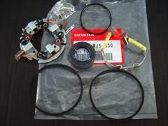 (4)CBX400FCBR400FCBX550Fセルモーター内部ブラシセット