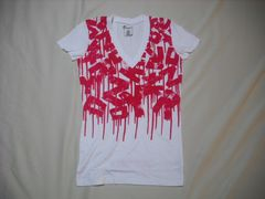 mq572 女 ZOO YORK ズーヨーク 白 Tシャツ Mサイズ