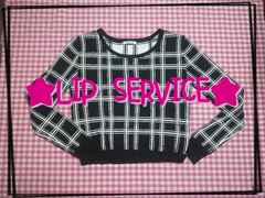 LIP SERVICE♪チェック系♪カットソー☆