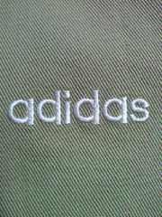 adidas アディダス ジャケット ジャンパー ブルゾン ブラウン Mサイズ シンプル
