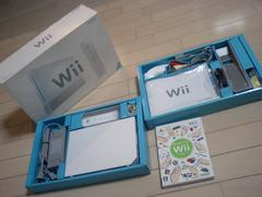 Wii・ホワイトセット・完品+はじWii