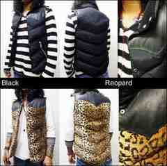 �������݁@�u�����[�e���u���b�g�@Collar Down Vest�@M