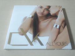 クリスタル・ケイCD「ALL YOURS」Crystal Kay初回盤DVD付●
