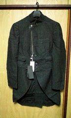 新品MESSAGERIE バッグ付2WAYジャケットコート48