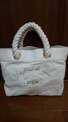 ジェラートピケのバッグ