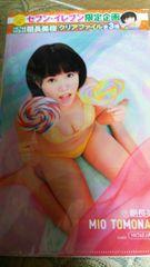 朝長美桜♪HKT48/AKB48★クリアファイル■ヤングアニマル付録☆セブンイレブン限定